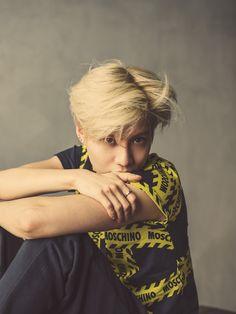 SHINee's Taemin becomes Moschino's new model - http://www.kpopvn.com/shinees-taemin-becomes-moschinos-new-model/