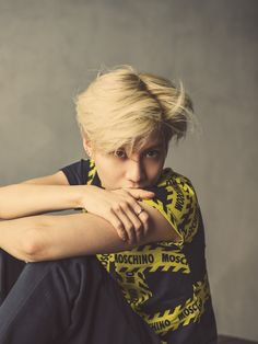 SHINee's Taemin becomes Moschino's new model - http://www.kpopvn.com/shinees-taemin-becomes-moschinos-new-model/