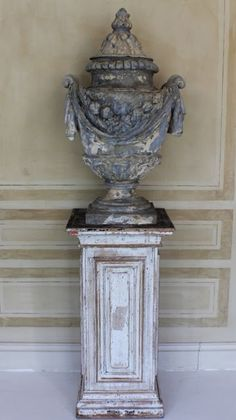 18th century French garden urn