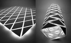 Imaginé par Inga Mrazauskaite, N-Matic est un luminaire souple et pliable permettant de réaliser des formes complexes et changeantes....