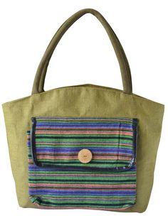 #jutehandbag #green #olive Get it @ www.earthenme.com