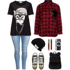 A fashion look from September 2015 featuring Eloquii tops, Yoek t-shirts and H&M jeans. Browse and shop related looks.