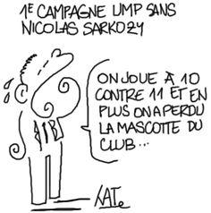 Catherine Créhange: première campagne UMP sans la mascotte