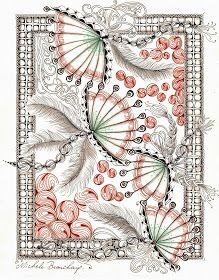 By Michele Beauchamp, Certified Zentangle Teacher