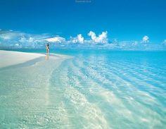 Beach in the Maldives
