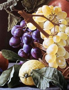 50 ideas for painting oil fruit pintura Watercolor Fruit, Fruit Painting, Watercolor Paintings, Still Life Fruit, Polychromos, Painting Still Life, Caravaggio, Fruit Art, Art Plastique