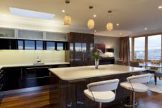 Penthouse - Sandymount | RK Designs Walnut Table, Custom Made Furniture, Handmade Wooden, Dublin, Ireland, Irish, Interior Design, Home Decor, Nest Design