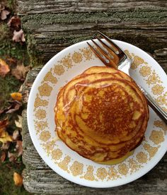 Please join me today over at The Balanced Platter, where I share these gluten free easy pumpkin pancakes. ♥, Kelly