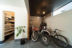 Eの字型の外観の家・間取り(大阪府大東市)|狭小住宅・コンパクトハウス | 注文住宅なら建築設計事務所 フリーダムアーキテクツデザイン