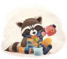 12 Pieces of Fan Art That Prove Rocket Raccoon & Groot Are the Best