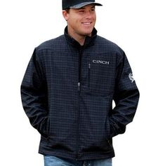 Step out in style this fall with Cinch classic outerwear. This soft shell vest is more than it appears. A velcro backed holster fits into hidden pockets to hold your personal firearm. Pockets are on both sides to accommodate right or left handed shooters. Embroidered Cinch logos on the front...  More details at https://jackets-lovers.bestselleroutlets.com/mens-jackets-coats/lightweight-jackets/windbreakers/product-review-for-cinch-mens-bonded-softshell-jacket-with-concealed