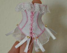 Miniature Romantic Corset - working