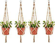 Learn how to make modern macramé plant hangers from the authors of Rooted in Design and Owners of Sprout Home. Perfect for indoor or outdoor plant designs.