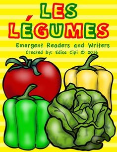 24 Vegetables in French!Teachers & Parents Save Yourself Hours of Work!Watch your students learn French quickly and effortlessly with this Fun and Engaging French Immersion Resource! There are 6 Parts to this resource!The following are included:1.