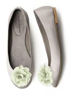Crinkle Chiffon Flower Shoe Clip http://www.dessy.com/accessories/crinkle-chiffon-flower-shoe-clip/?color=mint=473#.Ug7VD8wo5Ms