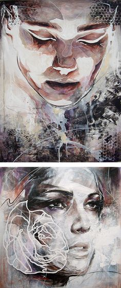 Portrait Paintings by Danny O'Connor