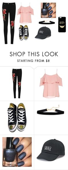 """""""Casual Girls Night Out"""" by bellacarlson on Polyvore featuring WearAll, BB Dakota, Converse and SO"""