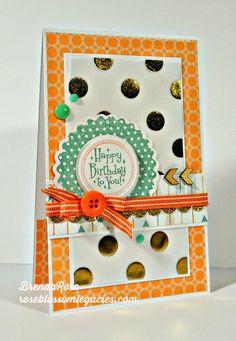 Rose Blossom Legacies: Happy Birthday, Mojo Monday, and Free To Be Me #B1417PerfectFit-Birthday #D1527PerfectFit-Frames