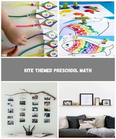 Kite Themed Preschool Math - Teach Beside Me diy home pictures Kite Themed Preschool Math