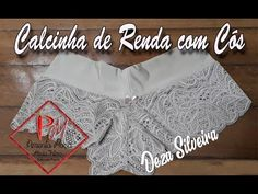 Calcinha de Renda com cós , Molde Gratis !!! - YouTube Sewing Lingerie, Sexy Lingerie, Sewing Stitches, Lace Bows, Diy Clothes, Camisole Top, Underwear, Dressing, Glamour