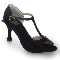 Jia Jia 20511 Latin Women's Sandals 2.7'' Flared Heel Super Satin Dance Shoes *** Visit the image link more details.