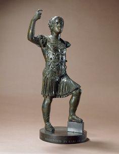 Statuette of Nero    Found in Suffolk    c. 1st century AD    Romano British