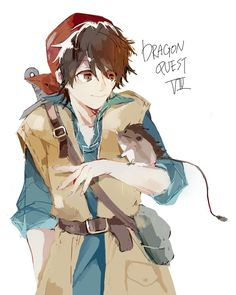 3DSDQ8 Dragon Quest VIII hero