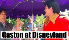"Gaston at Disneyland - Flynn's Smolder vs. Gaston's ""Inferno"" (patent pe..."