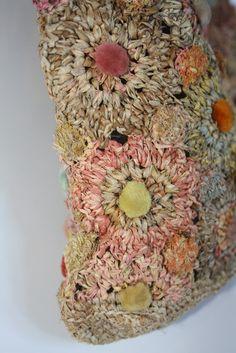 Image of Sophie Digard Raffia Bag