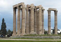 Templo de Zeus Olímpico, Atenas. Época helenística. Arte griego.