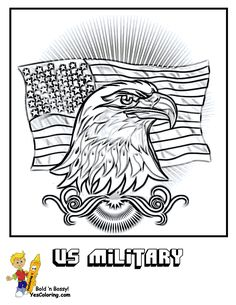 Memorial Day Pictures Printables American Eagle Tell Other Kids You Found YesColoring