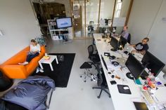 Awesome offices: Inside 13 fantastic startup workspaces in Amsterdam - The Next Web Usabilla