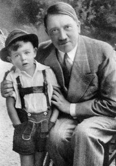 El niño que Hitler usó para hacer propaganda nazi