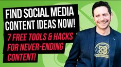7 Free Tools & Hacks for Never-Ending Social Media Content Ideas! Ever sit down to produce content to attract your best target audience, yet find yourself Types Of Social Media, Social Media Content, Social Trends, Target Audience, Online Marketing, Hacks, Tools, Attraction, Target