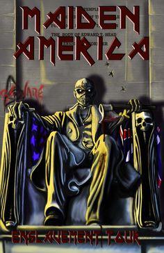 Iron Maiden Eddie by drewivy