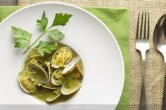 Almejas en salsa verde Thermomix