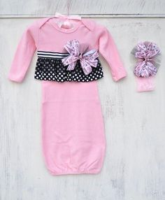 Persnickety+Baby+Parisian+Gown+Set+W/+Headband+Spring+2015