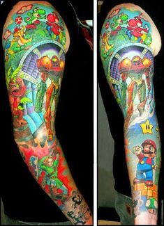 video-game-tattoos