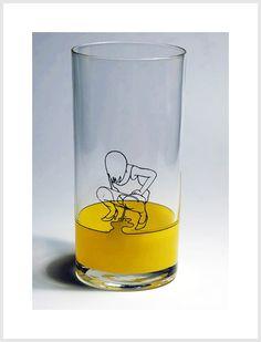 pee glass