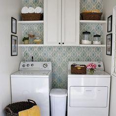Small Laundry Room Ideas | Laundry Room Design with Small Space Solutions 20-laundry-room-ideas ...