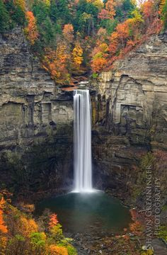 Taughannock Falls is located in Ulysses, NY, part of the popular Finger Lakes Region of central New York.