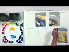 ▶ Preview Different Ways to Apply Paint now and learn how to charge paint for lovely mingled effects, then learn how to make your color really pop as you surround it with a dark. Visit http://ArtistsNetwork.tv for the full-length video.