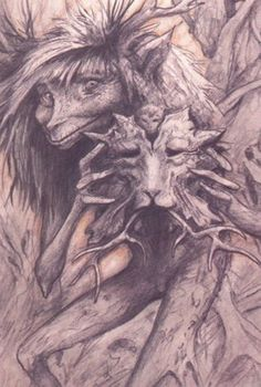 the sidhe people of the mounds