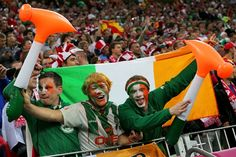 republic of ireland football fans - LADS!!!