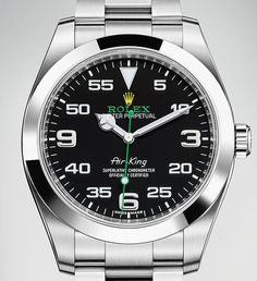 Discover the new Rolex Air-King unveiled at Baselworld 2016.