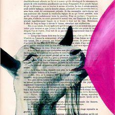 Regalos de impresión mixta ilustración impresión por Cocodeparis