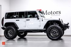 Jeep Wrangler Girl, Jeep Wrangler Lifted, Jeep Rubicon, Jeep Wranglers, Lifted Jeeps, Jeep Wrangler Custom, Jeep Jeep, Lifted Ford, White Jeep Wrangler Unlimited