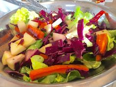 Salade fraicheur sucrée salée