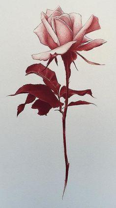 Flower tattoo design. #FlowerTattooDesigns