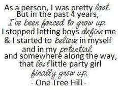 "This is how I feel about  high school. Except, instead of ""little party girl"" I was a little scared girl."